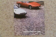 1980 Porsche Full Line (Range) Folder / Brochure English RARE!! Awesome L@@K