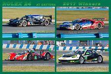 Winners Rolex 24 Daytona Cadillac, Ford GT, Oreca, Porsche Race Car Photo CA1399