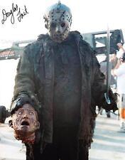 DOUGLAS TAIT as Jason Voorhees - Freddy Vs. Jason GENUINE AUTOGRAPH UACC (R3590)