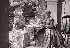 Tea party St. Augustine Florida FL Victorian or Colonial costume Treasury photo
