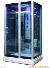 Steam Shower Enclosur w/Hydro Massage,ozone,Bluetooth.USA Warranty