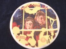 "Norman Rockwell  ""The Toy Shop Window Christmas 1977""  10554A Plate"