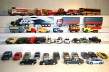 41  Modellautos, Pkws-Busse-Lkws, WIKING, Herpa, Rietze u.A., 1:87 H0 - Konvolut