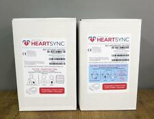 Case of 10 Physio Control HeartSync Adult & 10 Pediatric Lifepak Electrodes