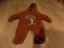 Infant Size 0-3 Months Disney Baby Fleece Winnie the Pooh Tigger Pram Snowsuit