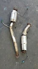 NISSAN ELGRAND E51 FRONT CATALYTIC CONVERTORS LEFT AND RIGHT