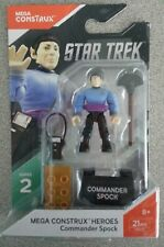 Mega Construx Heroes - Commander Spock (FND70) Series 2