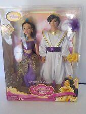 """Mattel Barbie Disney Enchanted Tales ALADDIN and JASMINE New MISB Box 12"""" Dolls"""