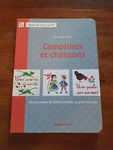 Comptines Et Chansons - Point De Croix Et Cie - Perette Samouïloff