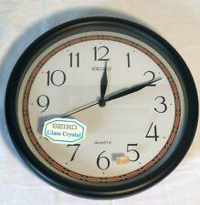 SEIKO Quartz Wall Clock Home/Office/Classroom Decor Vintage Brand New