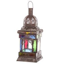 Orient LATERNE orientalisches Windlicht Glaslaterne Orientlampe aus Marokko Rida