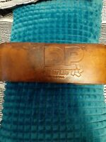 Vintage DP Fit For Life Leather Weight Lifting Belt Size Medium