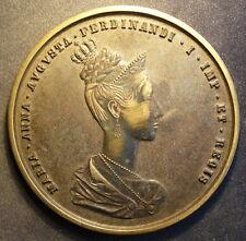 New listing German Coronation Medal for Ferdinand & Maria Augusta