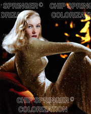 VERONICA LAKE stars in I Wanted Wings | Sexy 8x10 COLOR Photo by CHIP SPRINGER