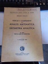 Esercizi e complementi di analisi matematica e geometria analitica P. II