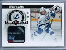 2012-13 Panini Limited Game Pucks #15 Steven Stamkos 04/25