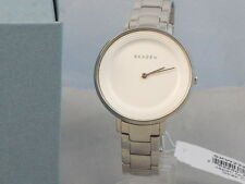 Skagen Denmark Women's Stainless Steel DITTE White Dial Watch SKW2329 $165