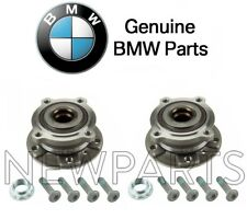 For BMW E70 F15 X5 X6 Set Pair of Front Left & Right Wheel Hub w/ Bearings