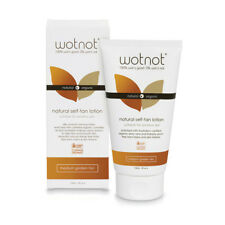 3 x 150ml WOTNOT Wot not Natural Self Tan Lotion