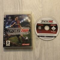 Pro Evolution Soccer 2009 (Sony PlayStation 3, 2008) no manual,