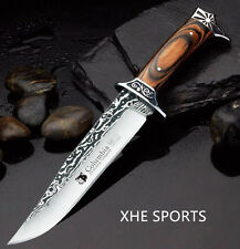 JL 042 Full Tang Survival Military Bowie Camping Tactical Pig Sticker knife