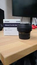 Sigma 56mm f/1.4 DC DN Contemporary Lens for Sony E Mount a6400 a6500 a6600