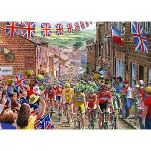 Le Tour de Yorkshire. 1000 piece jigsaw by Gibsons. G6205. NEW/sealed