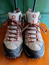 MERRELL Bungee Cord shoes beige suede hiking Vibram waterproof continuum 8.5