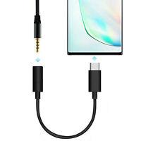 Typ C auf 3,5 mm Audio Mikrofon Adapter für Samsung Galaxy Note 10/10 + / Plus