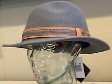 Bailey Of Hollywood GANDY Men's LiteFelt Wool Hat Fedora Gunmetal X-Large XL NEW