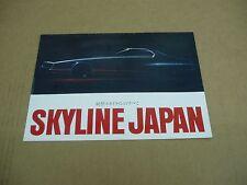 70's ?? Nissan Skyline 2000GT 1600 1800 TI sales brochure Japanese language