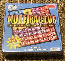 Learning Advantage Multifactor Game Grade 3-7 Math Homeschool