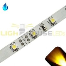Yellow/Gold - PLCC2/3528 12V LED Strip - Adhesive Backing - Water Resistant - 5