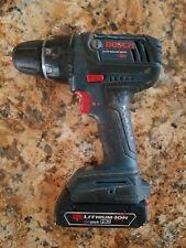 "Bosch 18v - Drill and Battery - Cordless 1/2"" Chuck 1.5Ah Li-Ion 18 Volt DDS181"