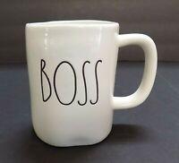 """""""BRAND NEW"""" Rae Dunn """"BOSS"""" Large Letter Mug By Magenta"""