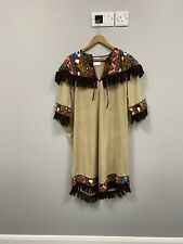 ex hire fancydress costumes - Beige Indian Squaw Dress - Size Large