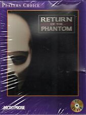 Vintage Return Of The Phantom by MicroProse, Retail Box (1995 PC/CD-Rom/DOS) NEW