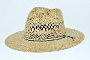 Somher Panama Fedora Style Hat Straw Large