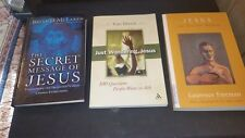 3 NEW Jesus books: JUST WONDERING, JESUS, JESUS THE TEACHER WITHIN & THE SECRET