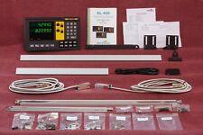 "2 Axis EL400 Magnetic Digital Readout Mill 12""x30"" DRO Kit w 6 Year USA Warranty"