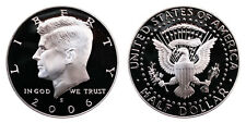 ESTADOS UNIDOS HALF DOLLAR 2006 S KENNEDY SILVER PROOF USA United States 1/2