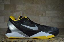 NEW Nike Zoom Kobe VII 7 Supreme Del Sol Black Silver Yellow 488244 001 Size 13