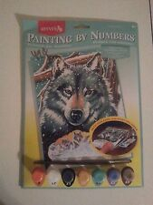 reeves painting by numbers PPNJ43 wolf