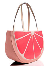Kate Spade Flights Of Fancy Grapefruit Tote Beach Bag Overnight Travel Bag $228