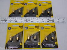 (12) New GE 1895 Miniature Lamp Bulb 4w Single Contact  12 volt G4-1/2 Free Ship