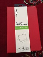 """Targus Protective Cover and Stand for 9""""-10"""" Tablets Red New Unopened"""