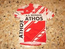 Maillot jersey shirt  AS MONACO ASM TRIATHLON CYCLISME CYCLING COURSE VELO