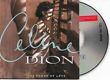 CELINE DION - The power of love CD SINGLE 2TR CARDSLEEVE 1993 (COLUMBIA)