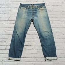 APC New Standard Distressed Denim Jeans Size 32 Faded Destroyed