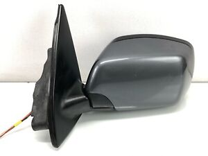 00-06 BMW E53 X5 Folding Power Heated Mirror LH Left Driver Side 1 Plug GRAY OEM